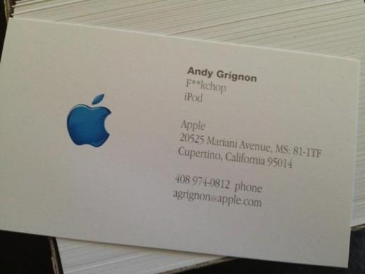 Apple Senior Manager Jobs called me f ckchop