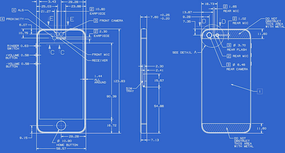 Apple releases detailed blueprints for iphone 5 macworld australia images malvernweather Gallery