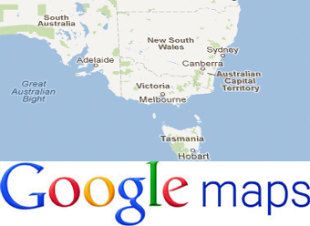 Google Images Map Of Australia.Google S Map Announcement Rushed To Beat Apple At Wwdc Macworld